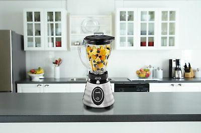 Oster Glass 2-Speed Toggle Beehive Brushed Stainless