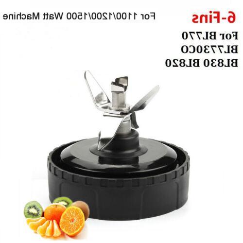 6 Blade Cup Lid Gasket Nutri Ninja Blender BL770 BL771 BL773