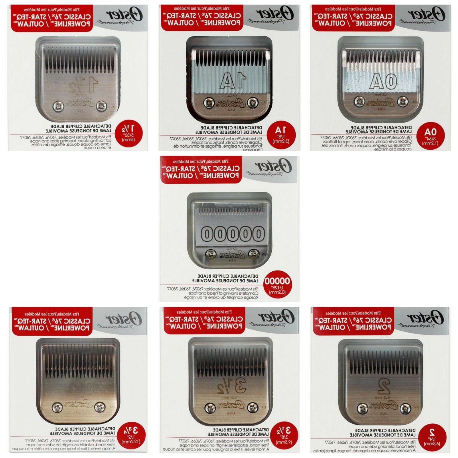 Oster Clipper Blades Blades! Selling Blades!