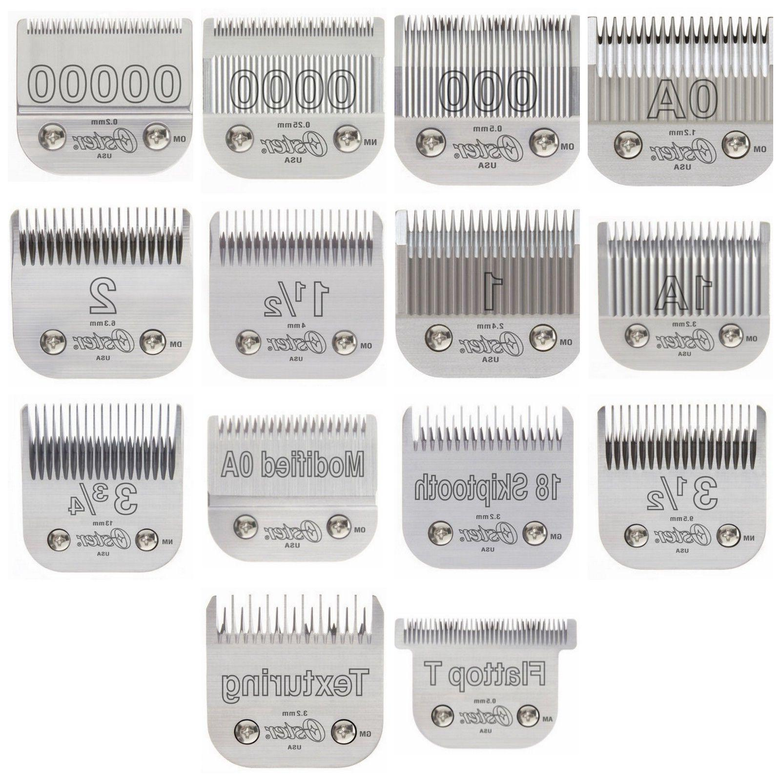 76 detachable clipper replacement blades 14 blades