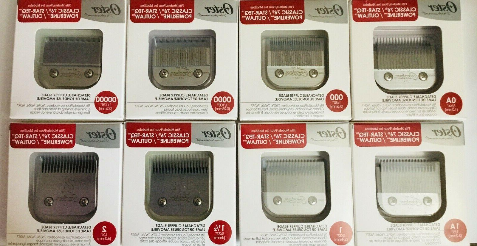 76 replacement detachable clippers blades fits classic