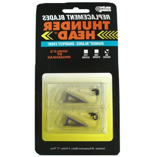 85 grain thunderhead replacement blades