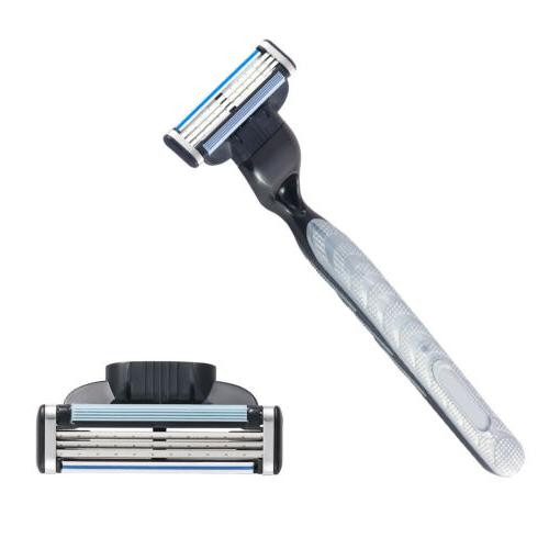 8pcs/set Mens Replacement Mach3 Razor Blades Shaver