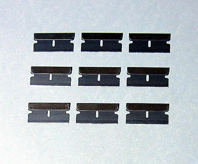 9 pcs razor blades box cutter scraper