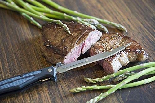 Havalon Knives Z Edition - Knife with Replacement Blades - Knife Accessories/Kitchen Knives Effortlessly Trim Fat from Meat