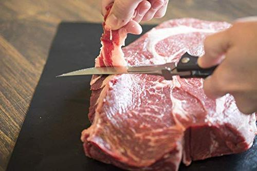 Havalon Knives Z Bear Paw Edition BBQ Knife with - The Meat Knife Accessories/Kitchen - Trim