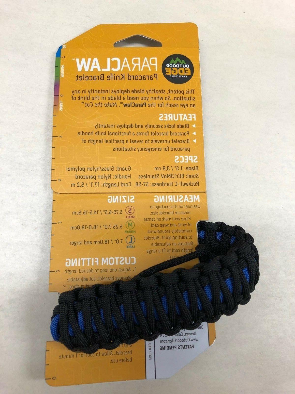 NEW Outdoor Edge Blue Bracelet