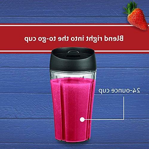 Oster Blender Plus Smoothie Cup, Nickel