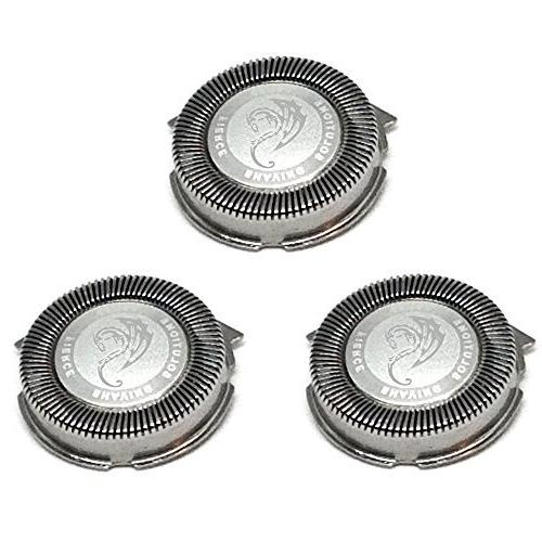 SH50/52 Replacement Heads Set of 3 Dual Precision Silver Dra