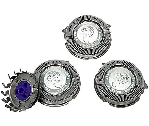 Universal HQ8 Compatible Replacement Heads Silver Dragon Edi