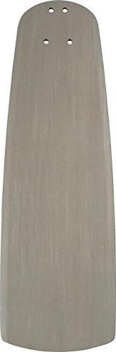 Emerson B77TM 22-inch Solid Wood Ceiling Fan Blades, 5-Piece
