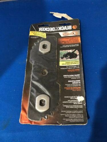 "Black Heavy Duty Edger Edge Replacement 7 1/2"" EB-007"
