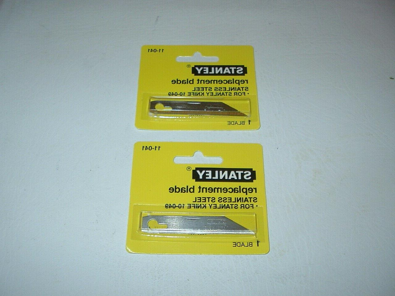 BUY 2 5 10 STANLEY BLADES 11-041 10-049 KNIFE