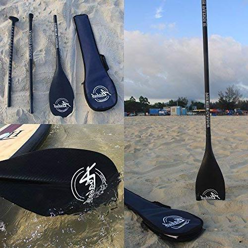 ABAHUB Premium SUP Paddle Adjustable Stand Up Carbon & +