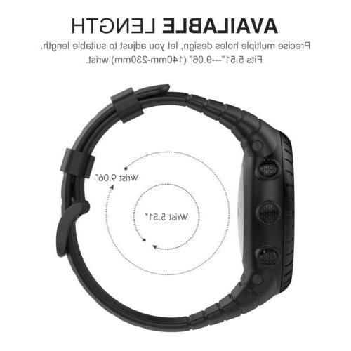 MoKo Replacement Wrist Band Strap Clasp Watch