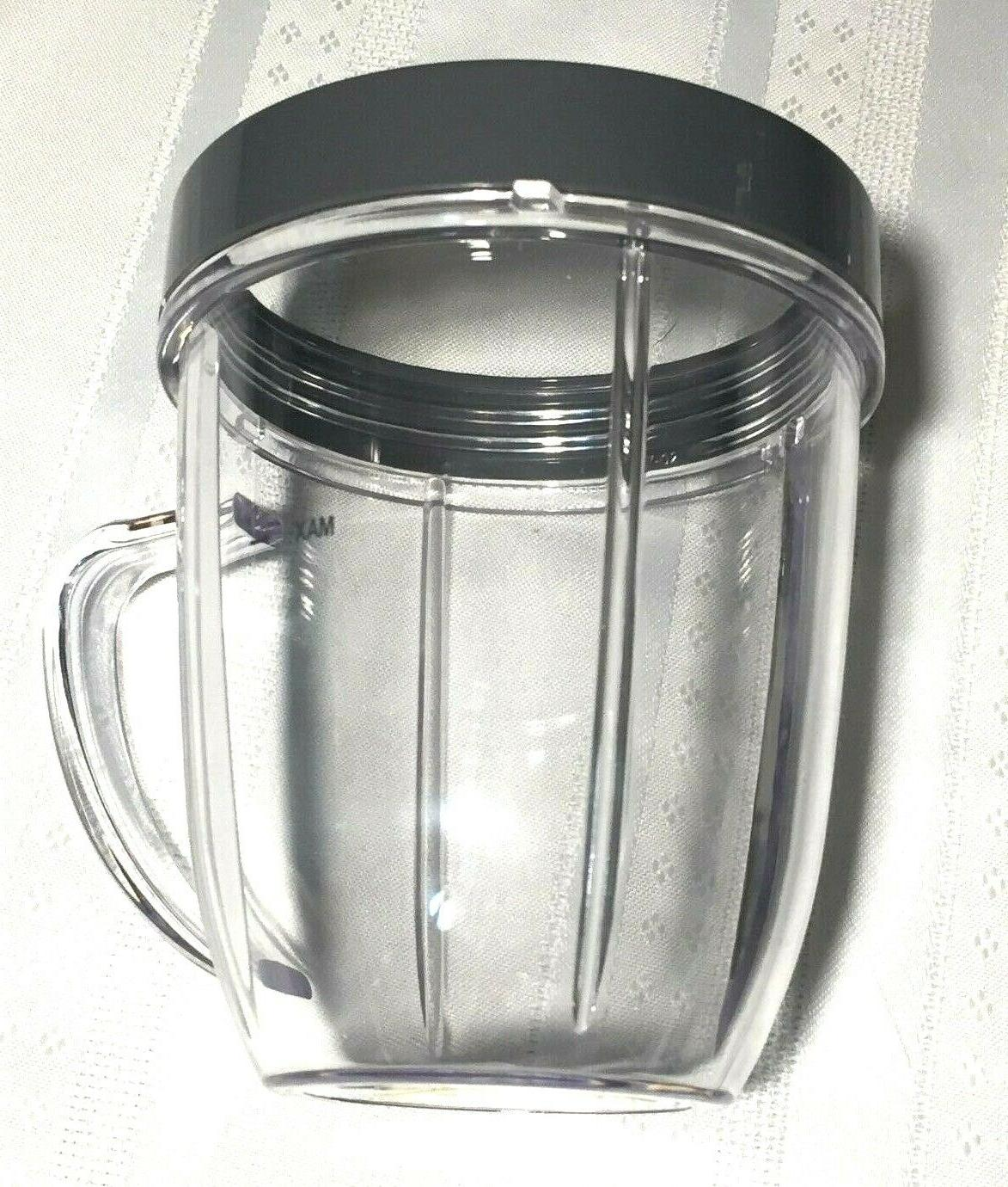 Cup and Blade Pc Set for NutriBullet Replacement High Mixer Pro!