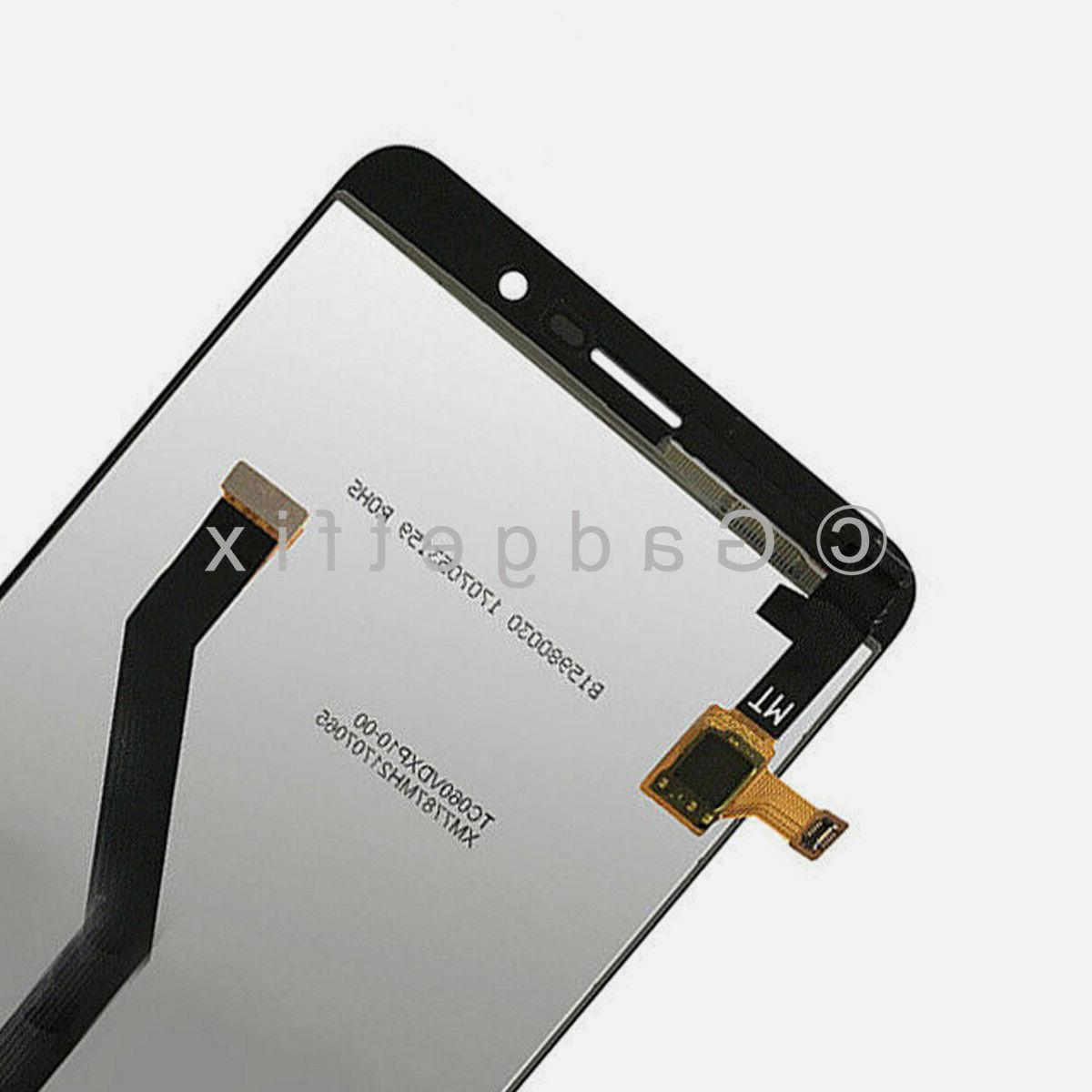 Display LCD Screen Touch Screen Digitizer Replacement For ZTE Z Max Z982