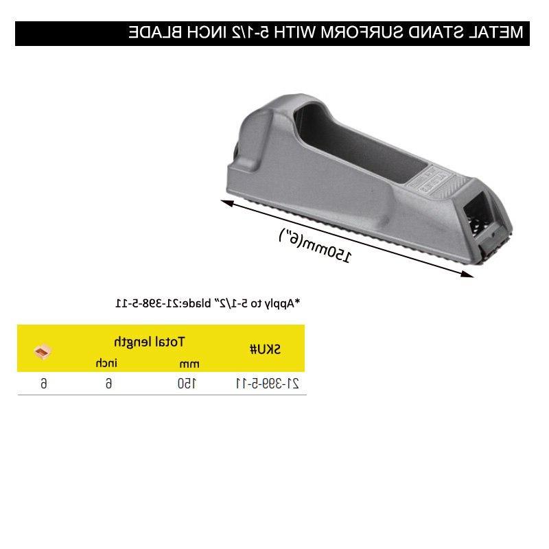 <font><b>Stanley</b></font> 1pcs 6-inch surform pocket with 5-1/2 <font><b>blade</b></font> rasp shaver for metal