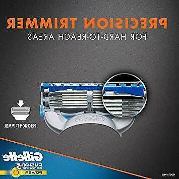Gillette Fusion5 Razor 8 Blade Refills May
