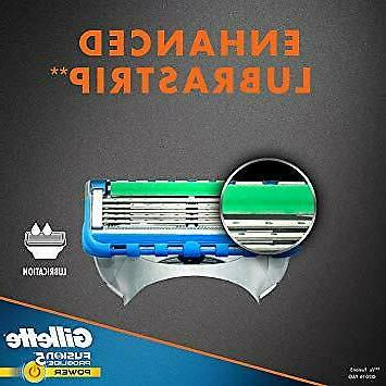Gillette Fusion5 Men's Razor Blades, Refills
