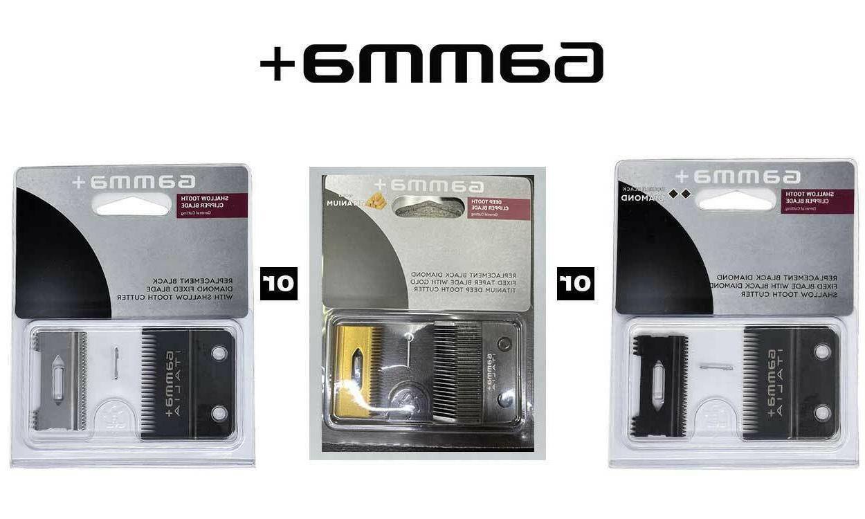 gamma replacement ergo or alpha clipper blade