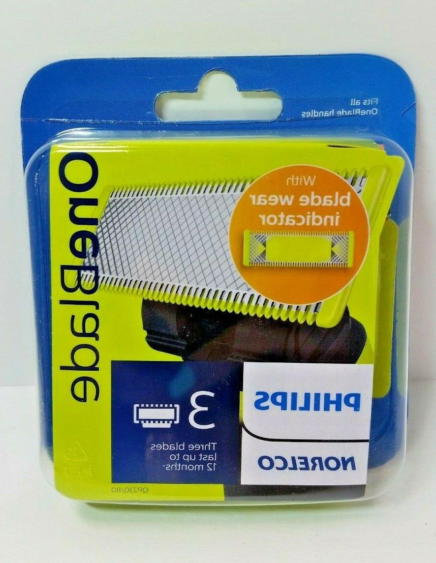 genuine oneblade replacement blades 3 pack sealed
