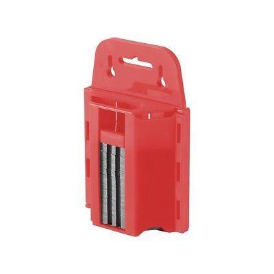 100pc w/ Dispenser | Cutter Knife Carpet