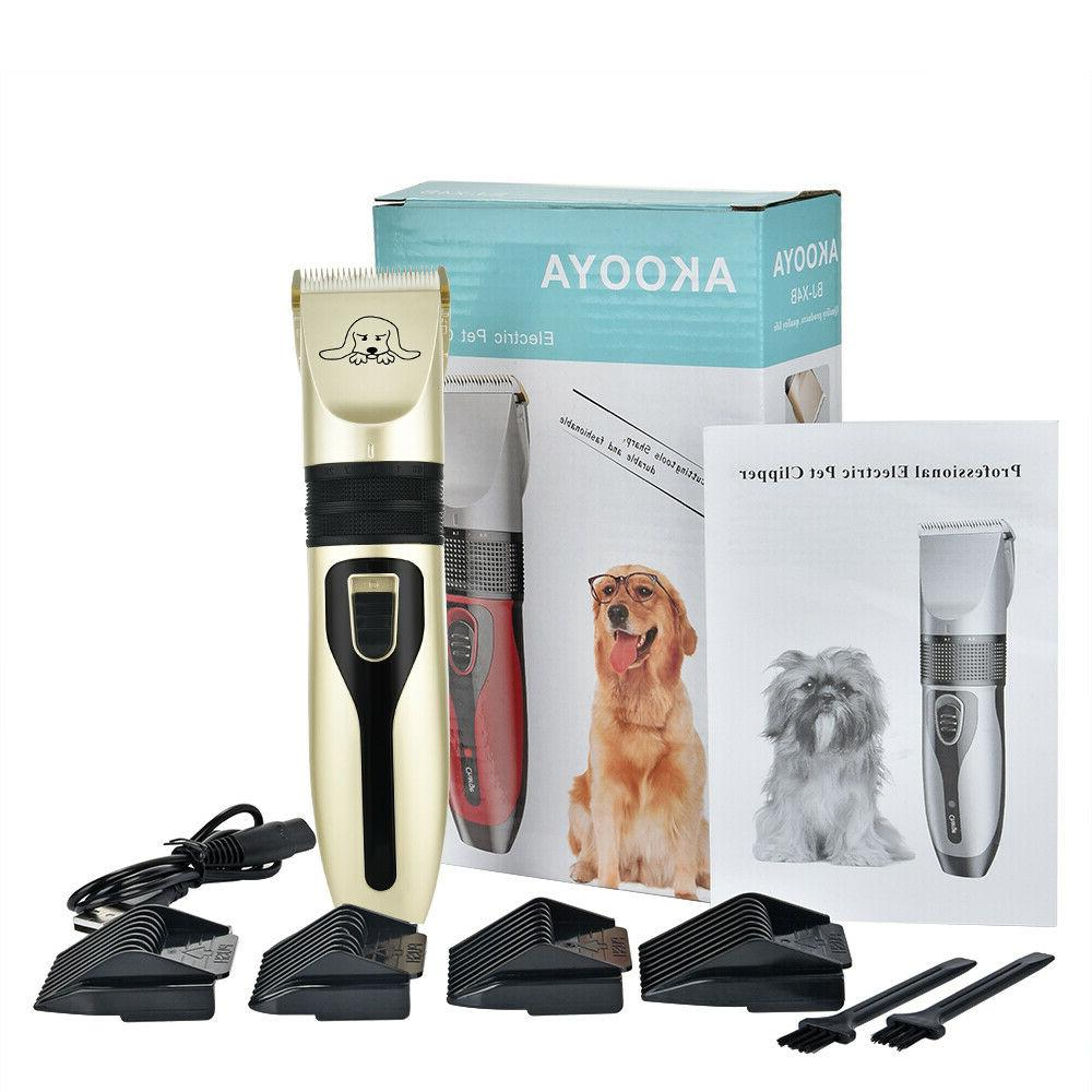 Low Noise Cat Hair Trimmer Electric Shaver