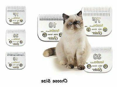 lucky no 9 cat grooming blades fits