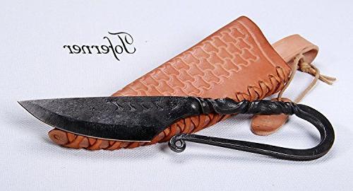 medieval celtic knife hand forged