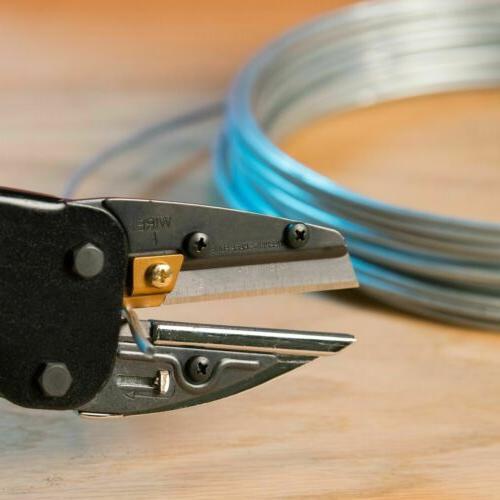 Multi-Cut 3 in Power Built-In Titanium Coated Cutter