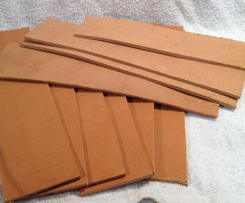 new natural leather replacement strop for straight
