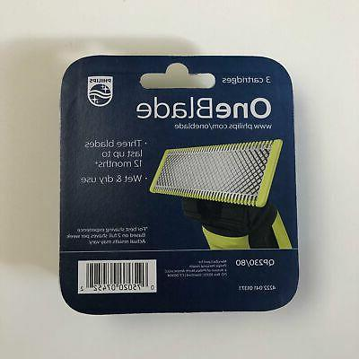 Philips OneBlade Replacement Blade, Pack QP230/80