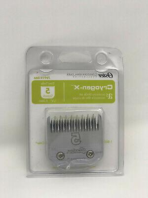 oster skip tooth detachable pet clipper blade