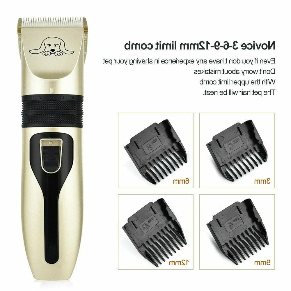 Low Noise Cat Grooming Clipper Hair Trimmer Electric Shaver