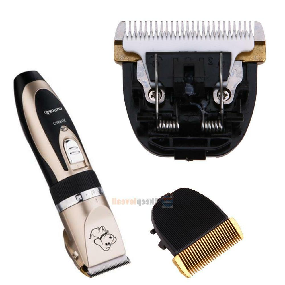 Professional Mute Dog Clipper Shaver Cordless Rechargeable