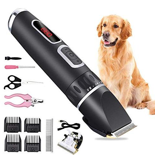 rechargeable pet clippers dogs