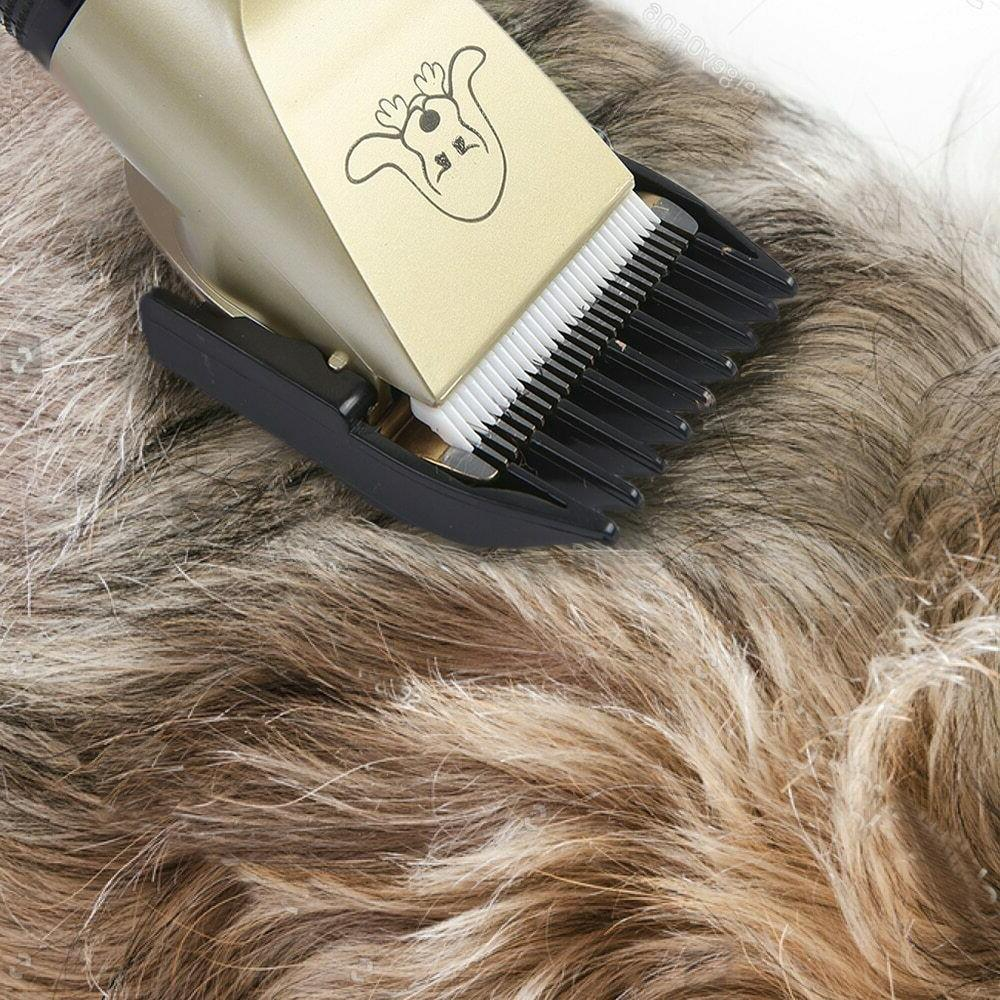Low Noise Cat Hair Trimmer Electric Rechargeable