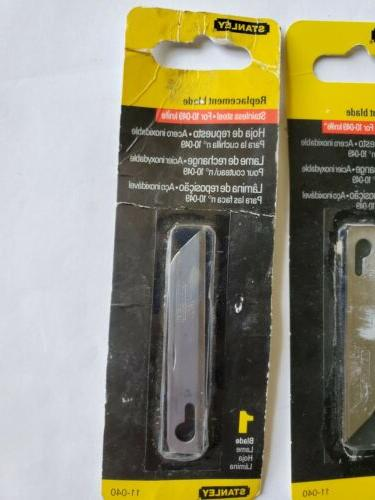 STANLEY, REPLACEMENT BLADE, FOR THE STANLEY 10-49 2 Blades,