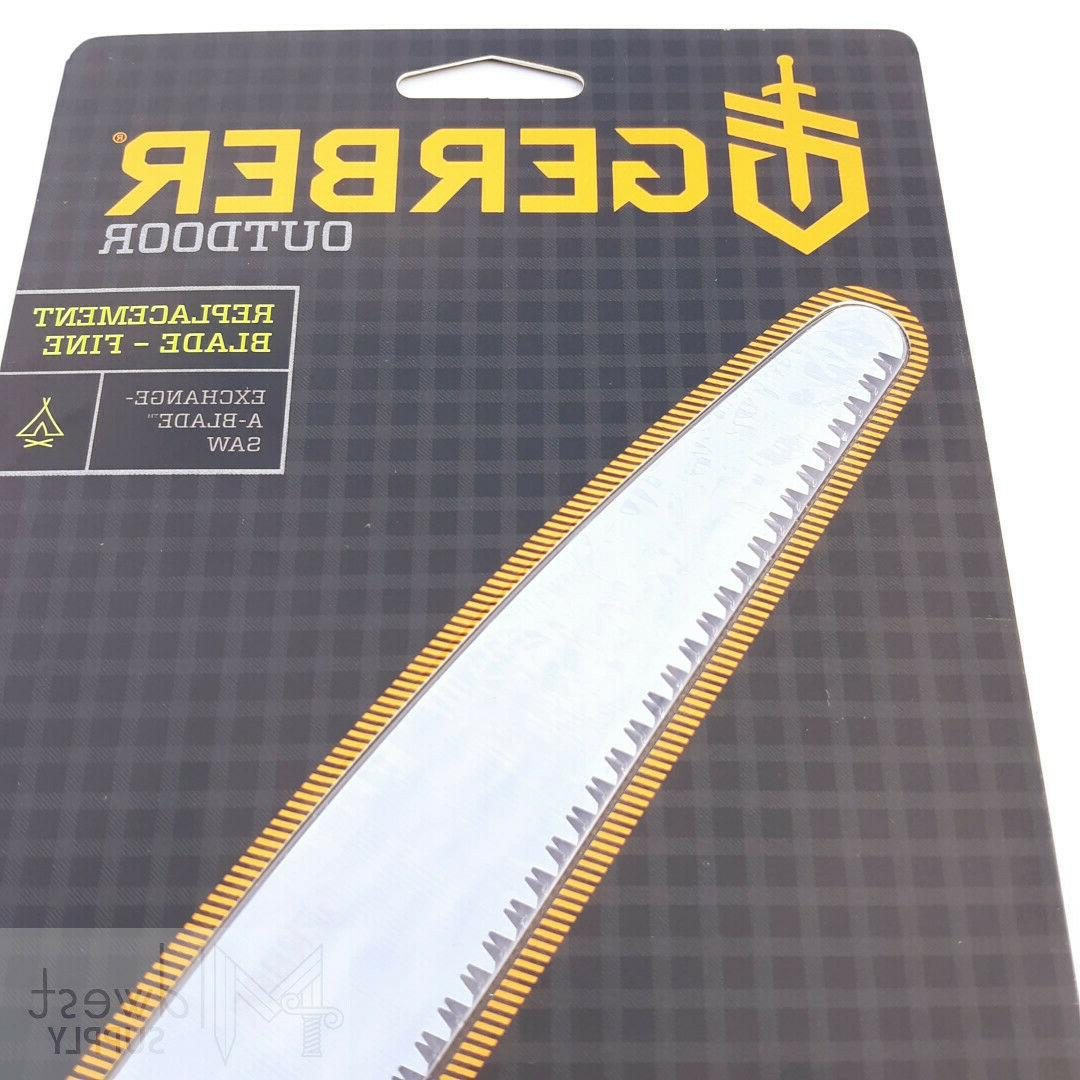 """Gerber Replacement Fine 7.20"""" Cut Stainless Exchange-A-Blade"""