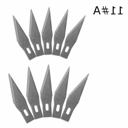 scalpel blades 10 pcs 11 wood carving