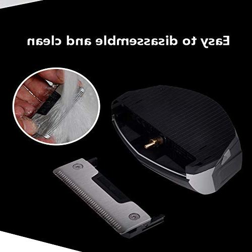 Self-assisted Hair Professional Hair Clippers Beard Rechargeable Supplies Hair Cutting Stainless Steel Blade