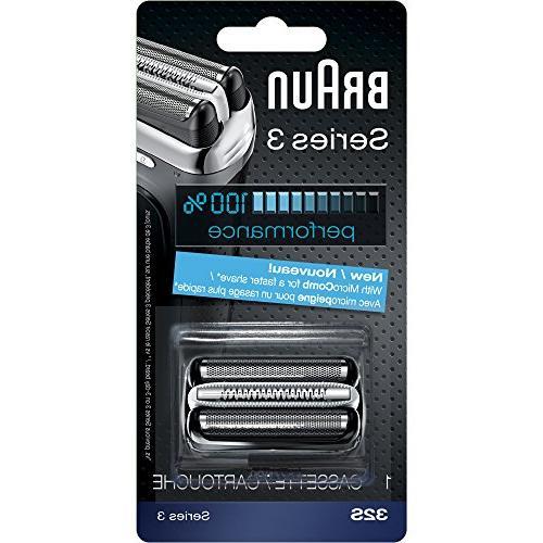 Braun Series 3 32S Foil & Cutter Replacement Head, Compatibl