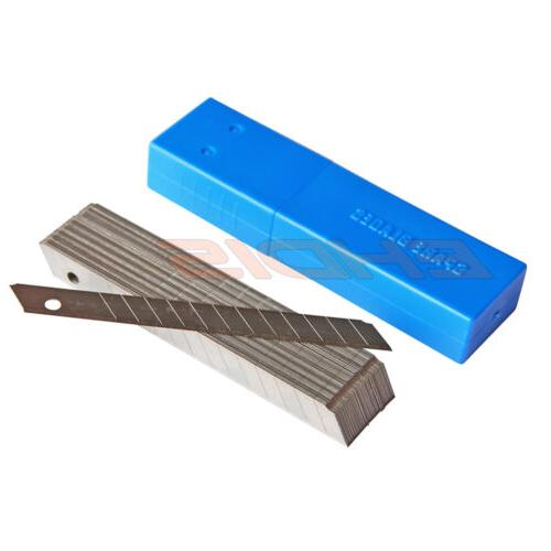 50PCS/Box 9mm Carbon Steel Off Blade for Knife Cutter USA