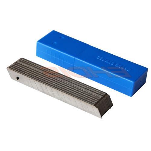 50PCS/Box 45° Sharp 9mm Steel Off Blade Cutter