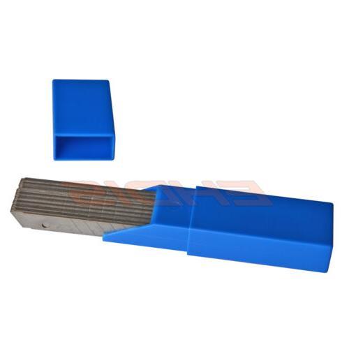 50PCS/Box Blades 9mm Carbon Steel Snap Off Knife Cutter USA