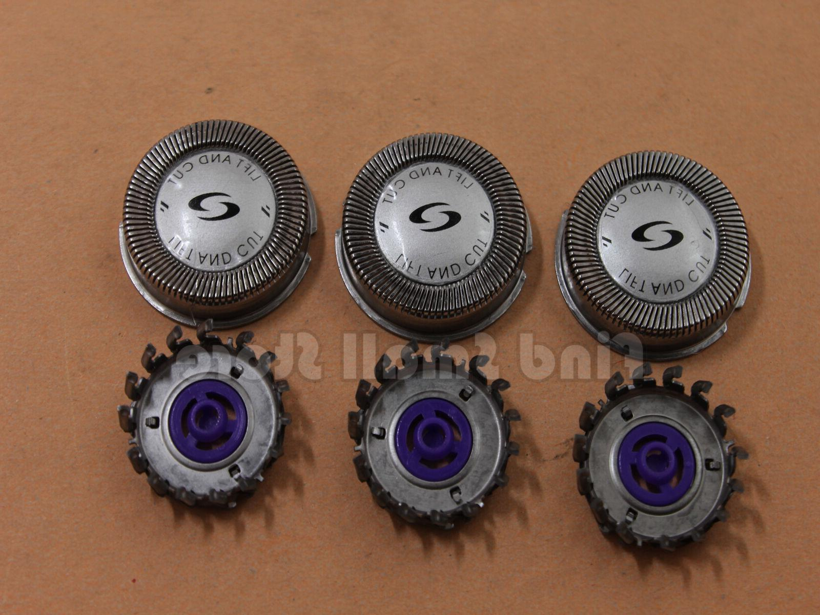 3Pcs Shaver Blades Heads For Philips HQ3 HQ6