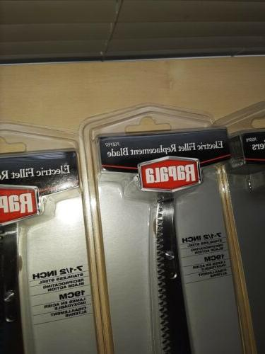 Rapala Stainless And Replacement Blades NEW lot