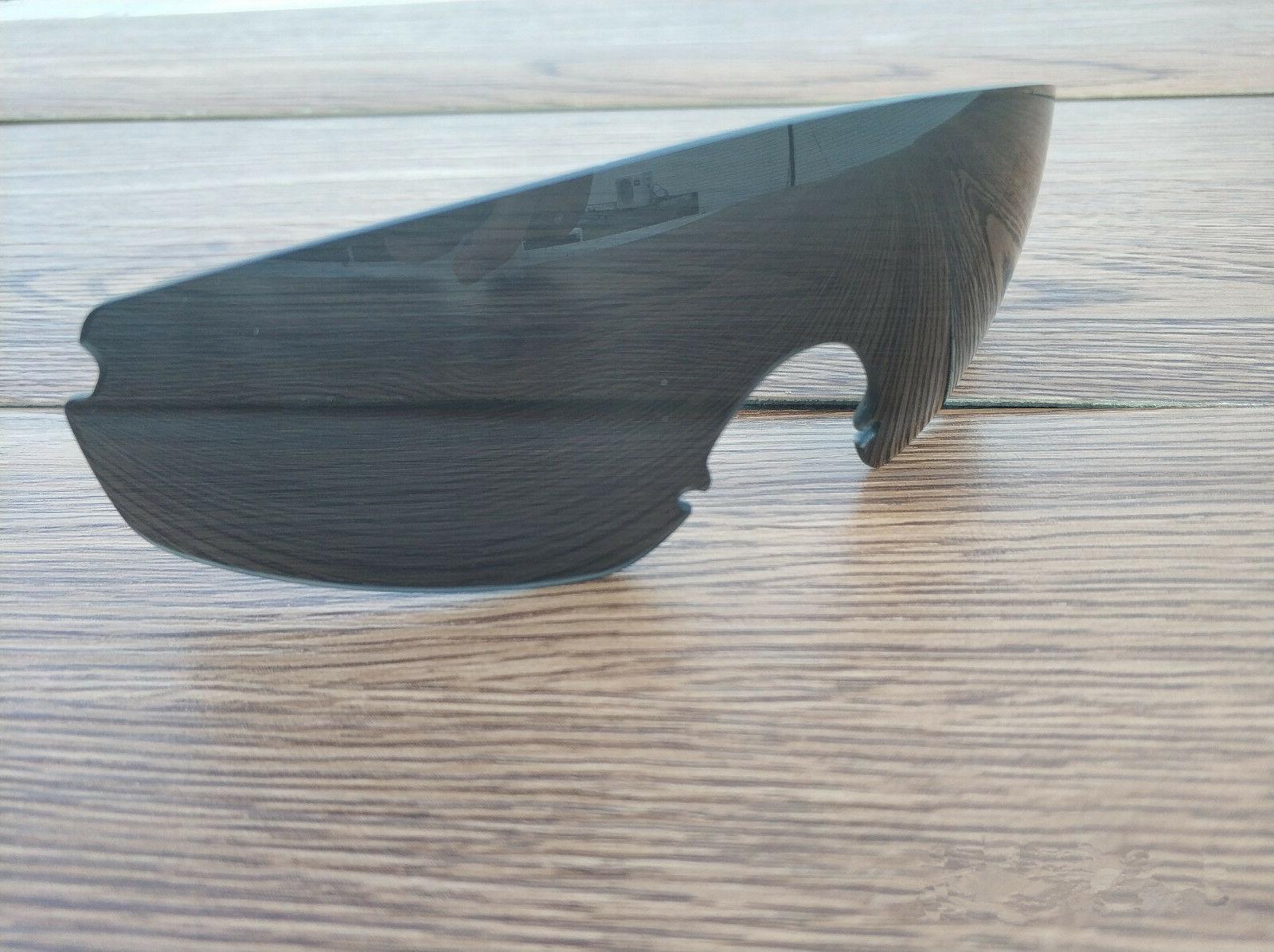 stealth black replacement lenses for oakley razor