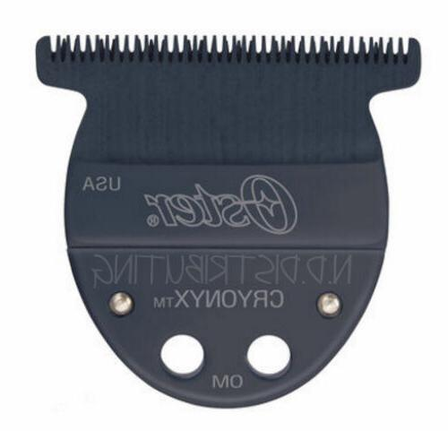 """Oster Taler T-Blade Trimmer Black Replacement Blade 1/125"""""""
